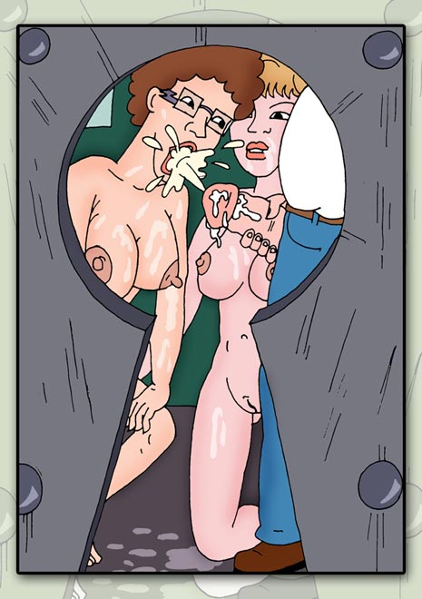 hill king the of nudes Bugs bunny and lola bunny kissing