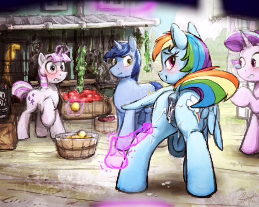 pants and quibble dash rainbow Rouge the bat animated