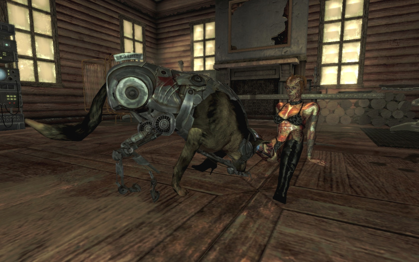fallout assaultron 4 The last of us nude